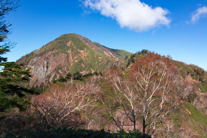 秋の高妻山