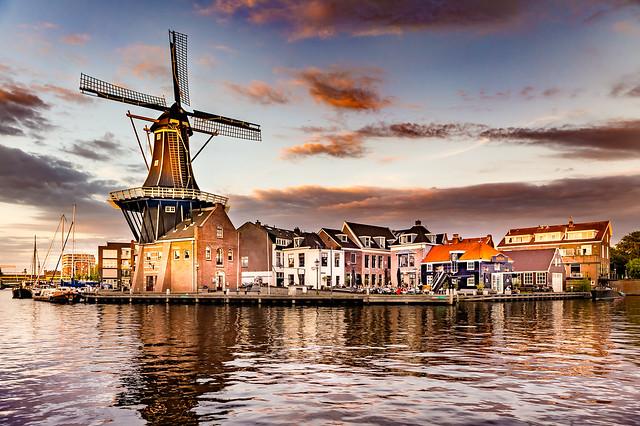 De Adriaan Windmill, Haarlem, Netherlands