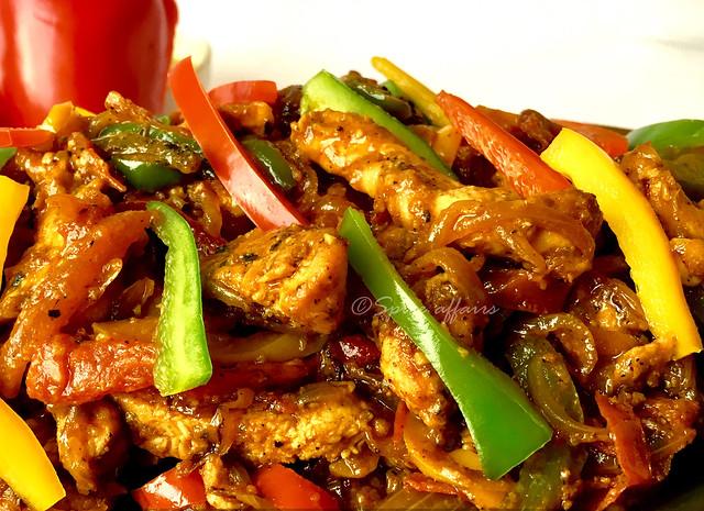 chicken fajita filling