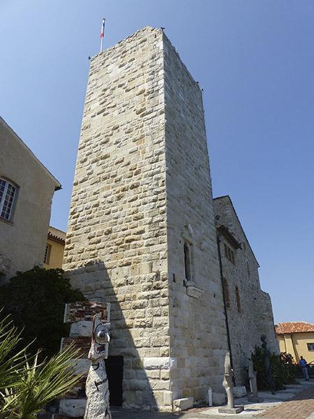 le musée picasso à Antibes