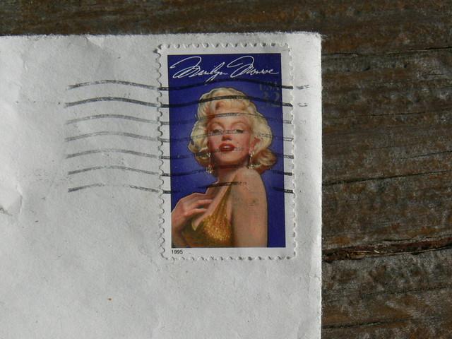 Marilyn Monroe stamp 9 15 17, Panasonic DMC-FZ30