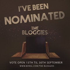 The Bloggies - I've Been Nominated!  YAY!