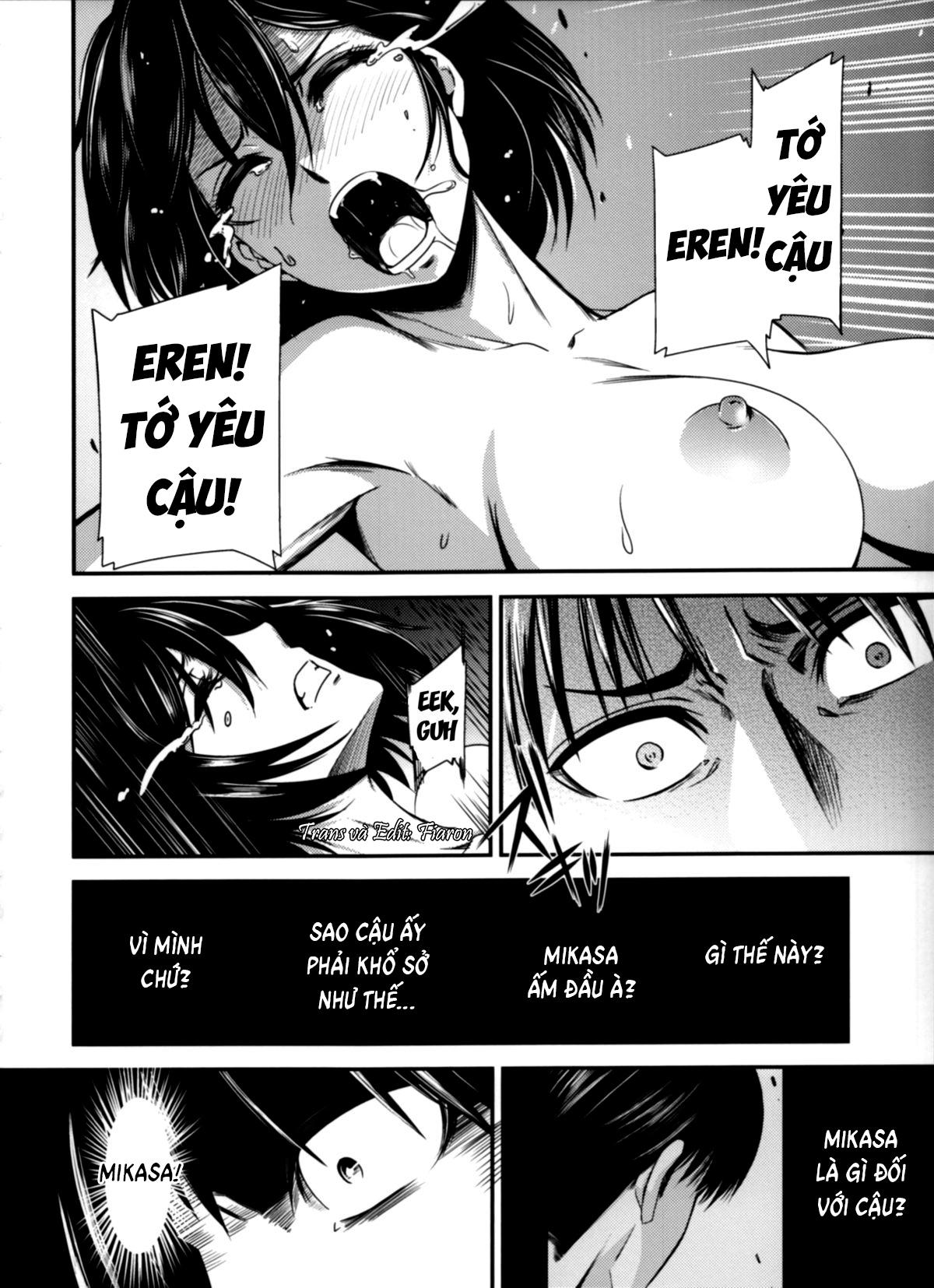 HentaiVN.net - Ảnh 35 - Gekishin (Attack on Titan) - Firing Pin - Gekishin Yon
