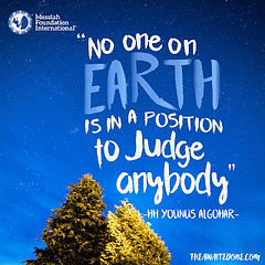 Quote of the Day: No One on Earth...