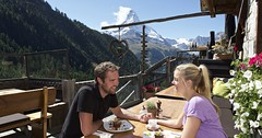 Backstage dining tour, Zermatt