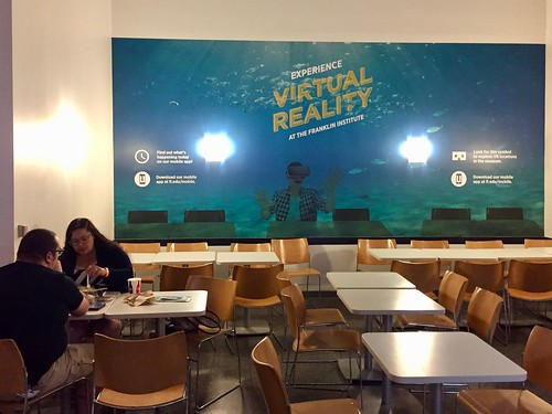 Internal promotions for the Museum's VR strategy.