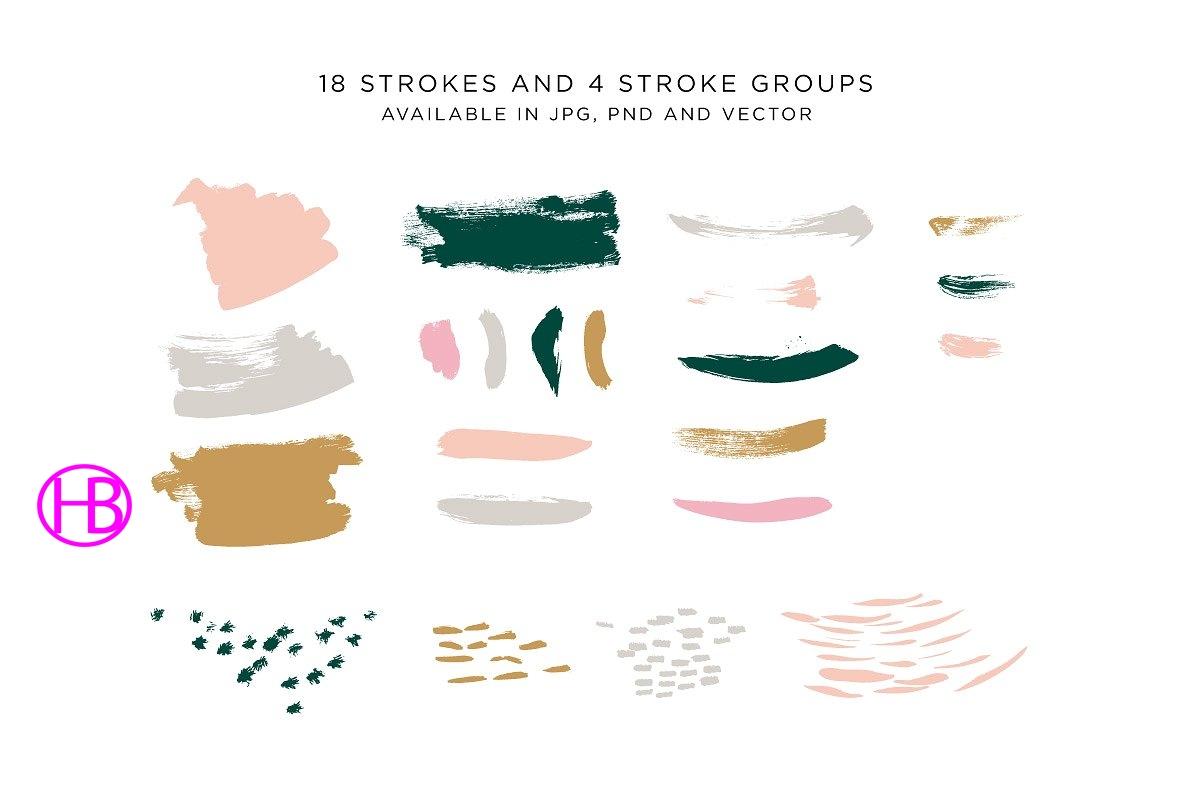 Bộ Pattern và Stroke dành cho designer