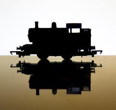 Railway engine train
