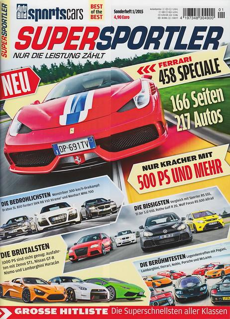 Auto Bild Sportscars - Supersportler 1/2015