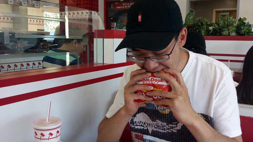 Ed's first time at In-N-Out Burger