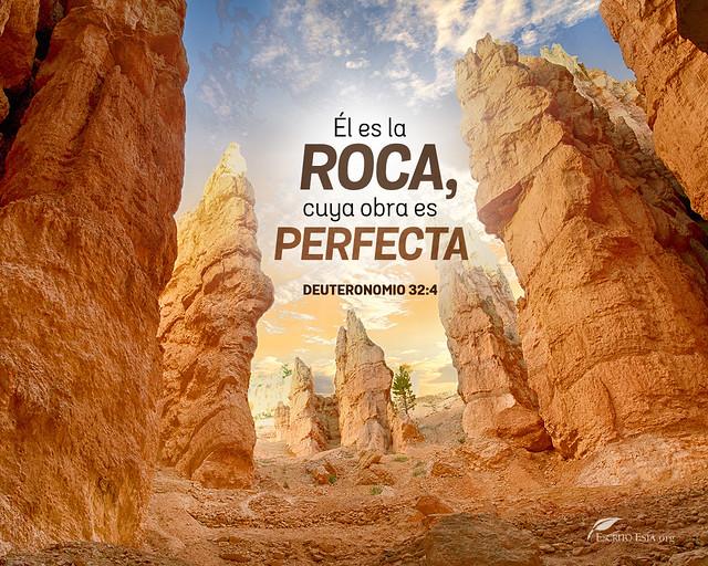 El es la roca, cuya obra es perfecta