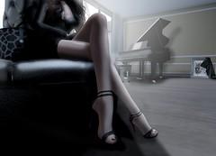 Un croisement de jambes