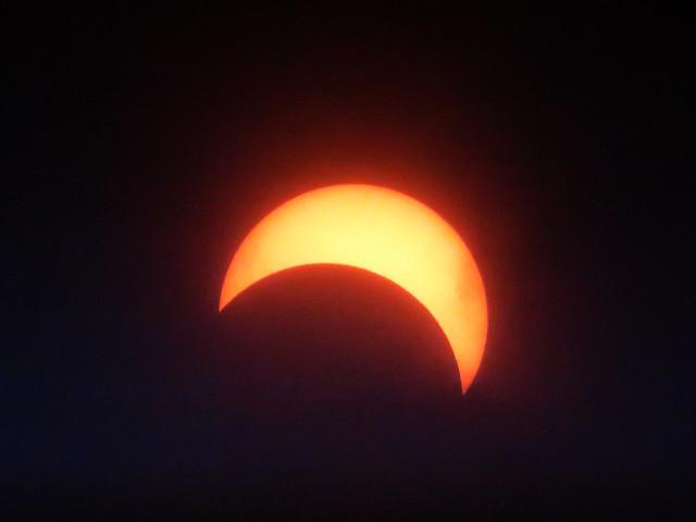 Solar Eclipse POV Wakefield, Massachusetts; Monday, August 21, 2017