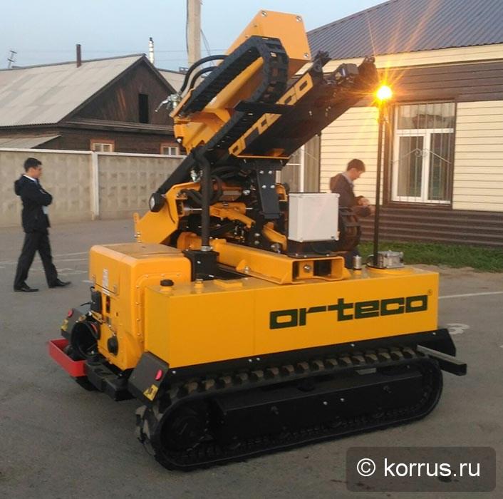 в республике Бурятия была передана Покупателю самоходная сваебойная машина ORTECO BTP HEAVY DUTY