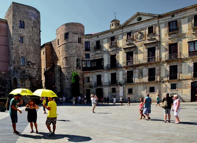 Barcelona:  A yellow tour gratis