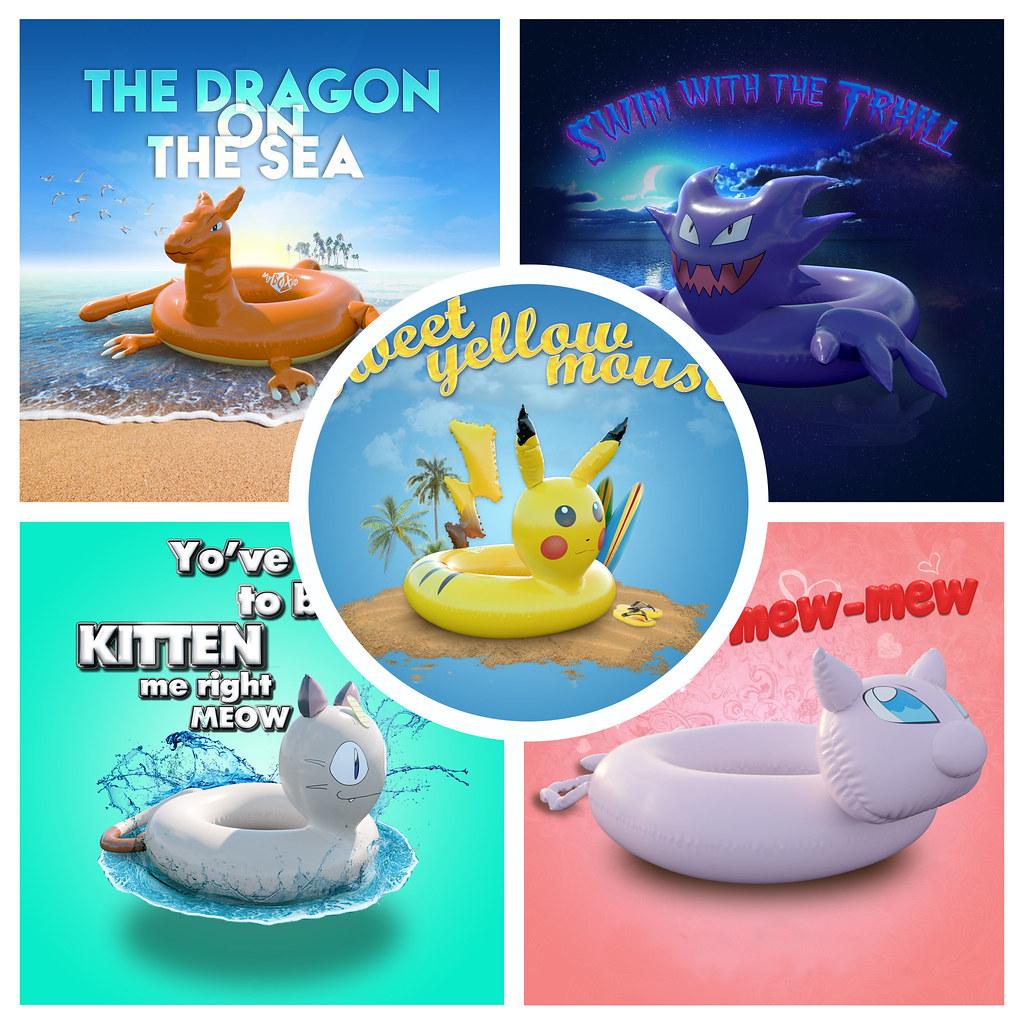Pokemon Float FATPACK - PG - SecondLifeHub.com