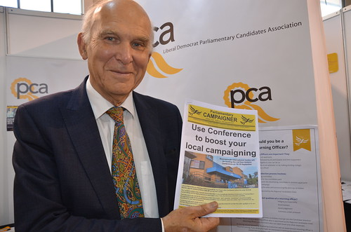 Vince Cable at PCA stand Bournemouth Sept 17 (13)