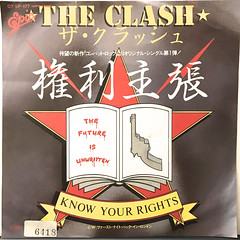 THE CLASH:KNOW YOUR RIGHTS(JACKET A)