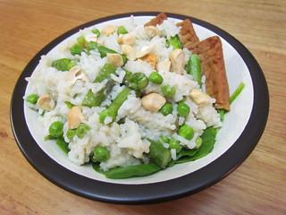 Lemongrass Jasmine Rice with Asparagus