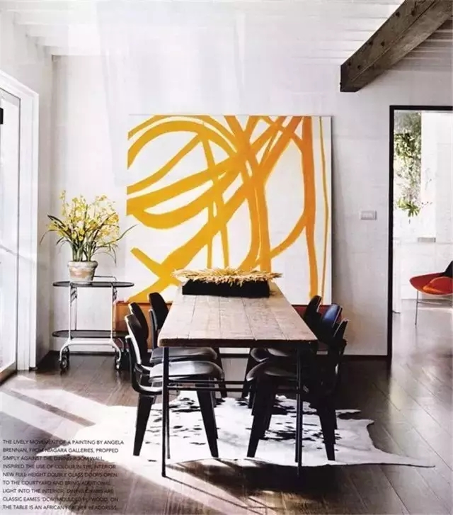 Large Yellow Artwork Dining Room Easy Ways to Make Your Rental Feel Like Home