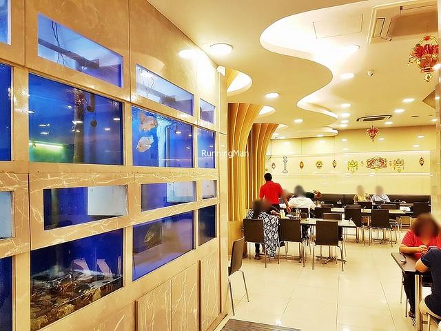 Sakunthala's Restaurant Interior