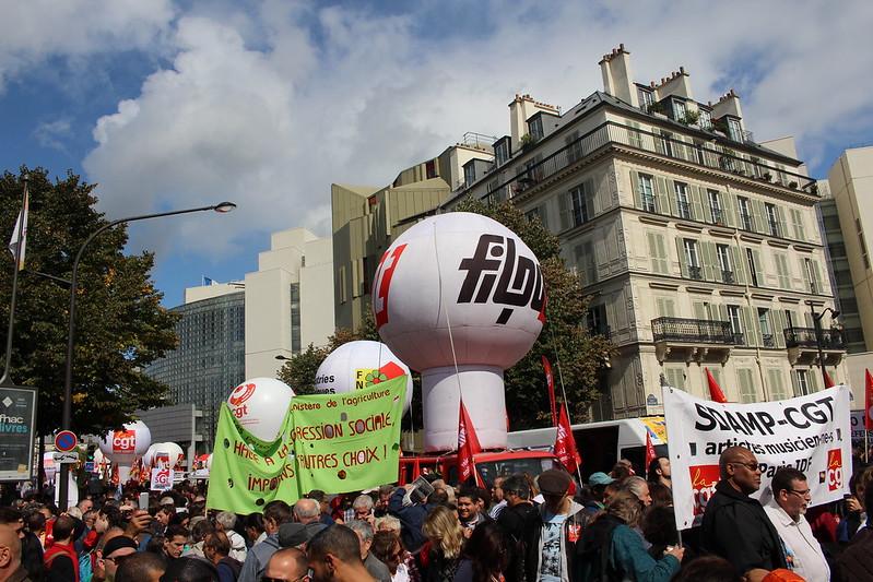 Manifestation du 12 septembre contre la Loi Travail Macron