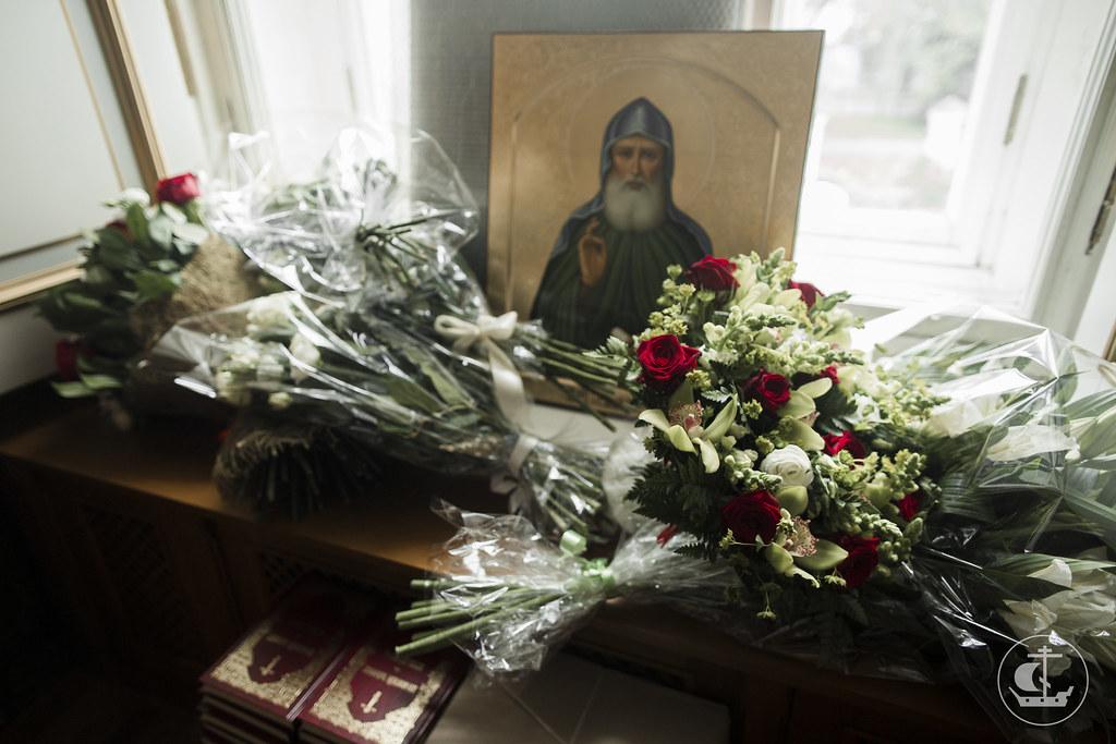 15 сентября 2017, Литургия в Николо-Богоявленском морском соборе / 15 September 2017, Divine Liturgy in the St. Nicholas Naval Cathedral
