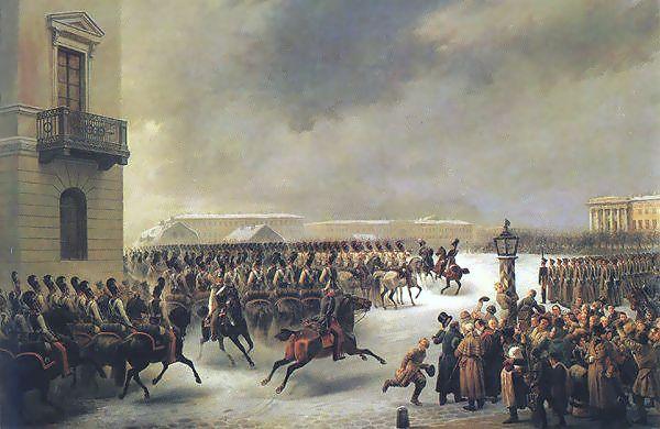 Decembrists Revolt, December 14, 1825