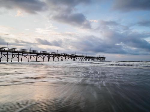 olympus ep5 panasonic 12mm32mm september 2017 atlantic ocean waves morning northcarolina nc water pier fav25 wallpaper