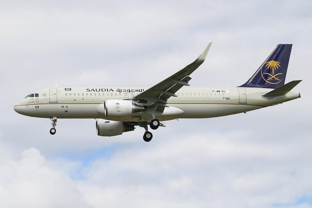 HZ-AS59(F-WWDJ) A320-214SL Saudi Arabian Airlines