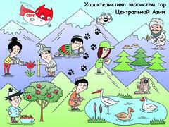 Очаг биоразнообразия в Центральноазиатском горном регионе / The Mountains of Central Asia hotspot