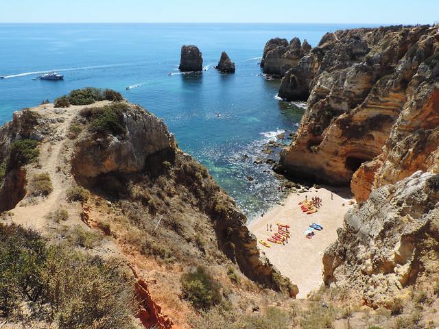 Coastal Hikes: Ponta da Piedade, Algarve, Portugal
