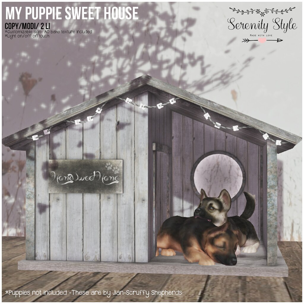 Serenity Style-My Puppies Sweet Home