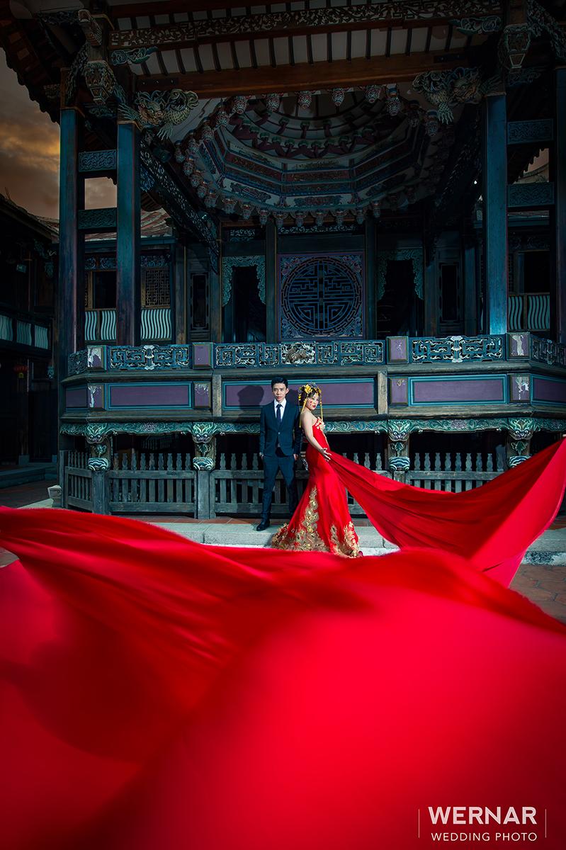 婚紗外拍景點,婚紗攝影,自主婚紗,婚紗照,台中華納婚紗推薦,中國風