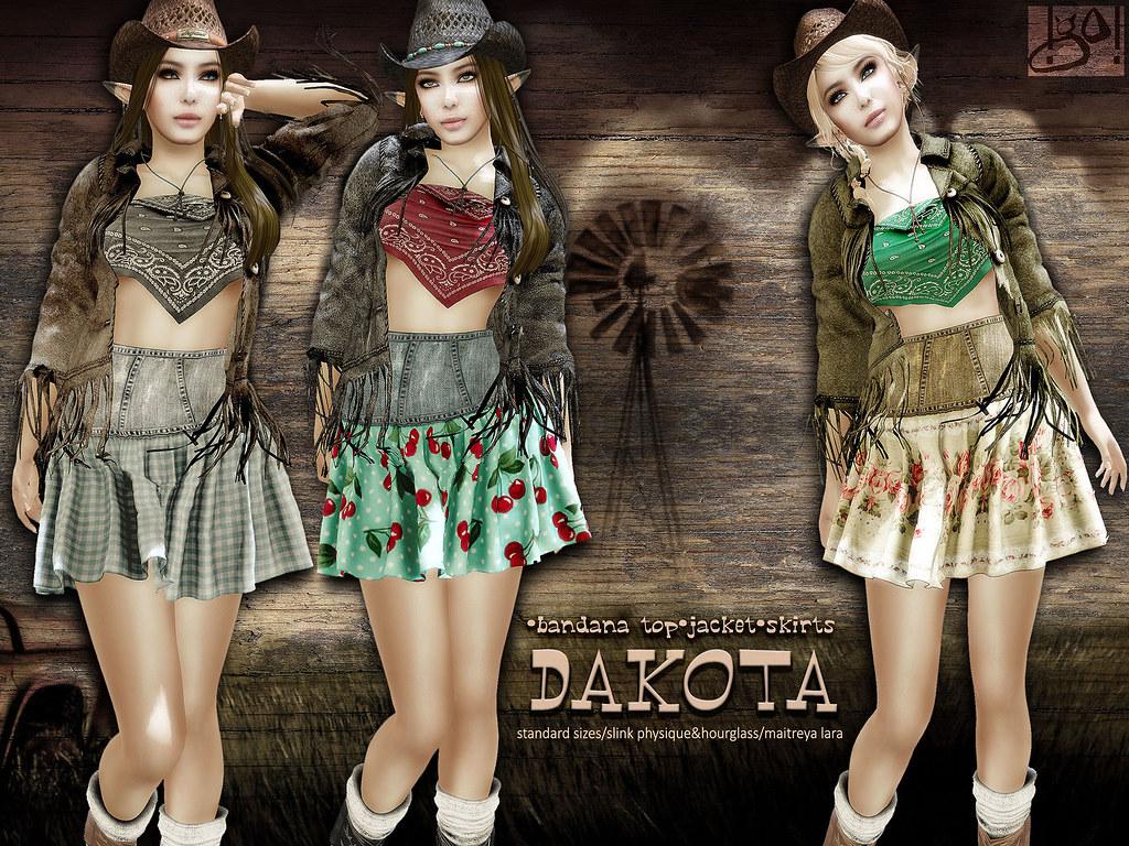 !gO! Dakota - vendor - SecondLifeHub.com