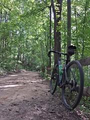 2017 Bike 180: Day 114 - Lake AccotinkPark
