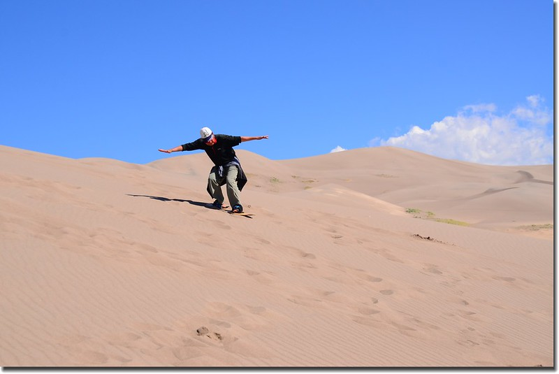 Sledding at Great Sand Dunes  (30)