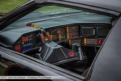 Dashboard of KITT car Pontiac Firebird at the Brew Week Cruise-in