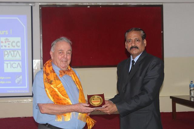 Interaction with Dr. Bert van Walbeek on Hospitality Industry_32 Shrawan 2074