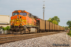 BNSF 5648 | GE AC44CW | BNSF Thayer South Subdivision