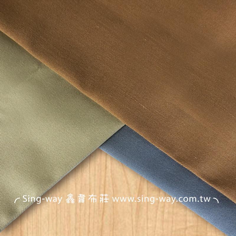 3C360001 灰咖啡色系 素面T/C 棉布 斜紋布