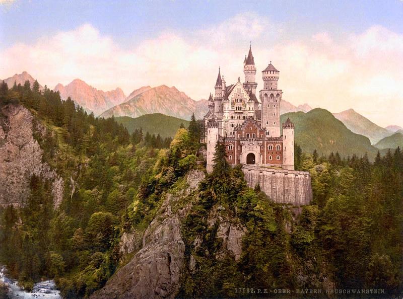 Neuschwanstein Castle, c. 1895