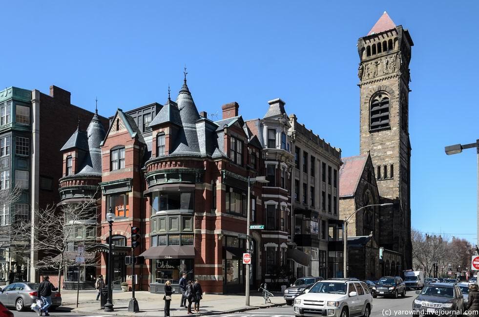 Бостон, исторический Бэк-Бей