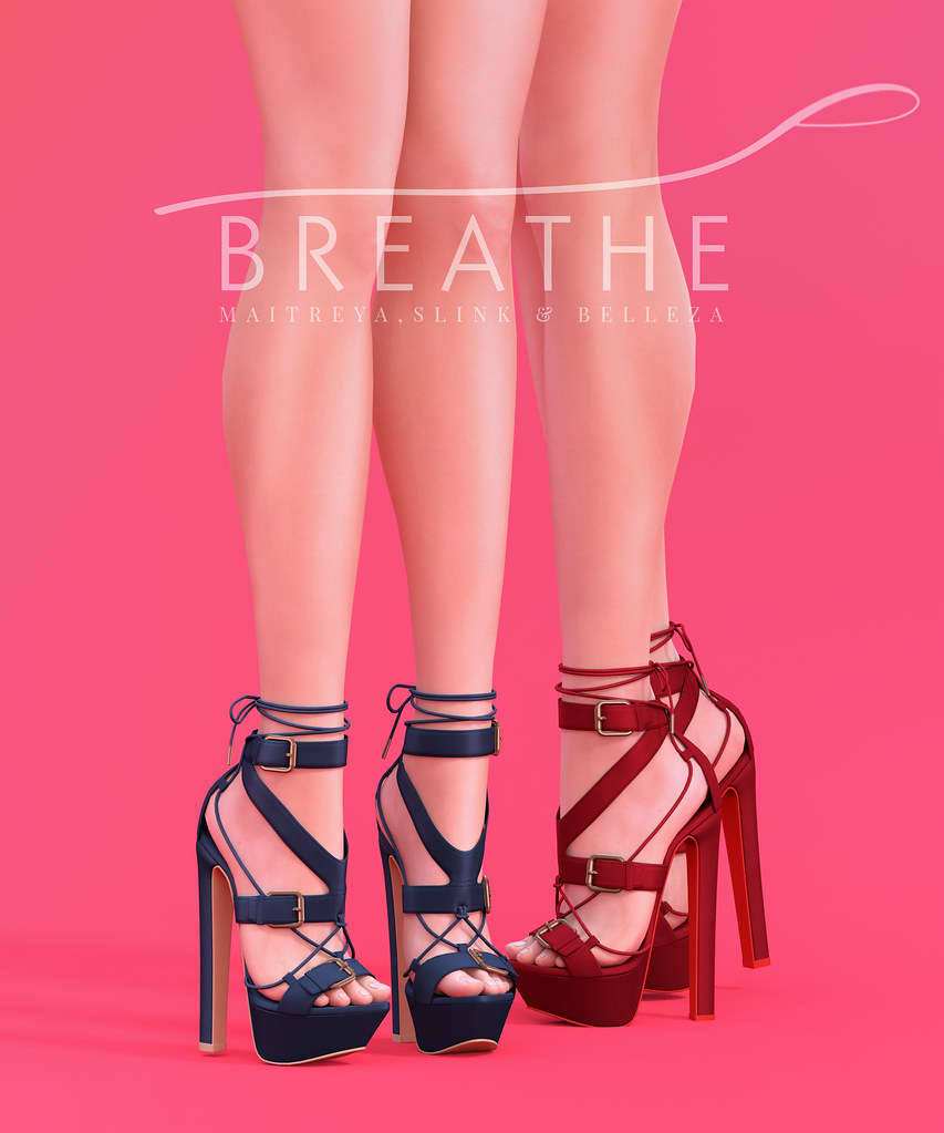 [BREATHE]-Brandi Heels - SecondLifeHub.com