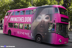 Wrightbus NRM NBFL - LTZ 1159 - LT159 - Rimmel - Hammersmith 9 - RATP Group - London 2017 - Steven Gray - IMG_8402