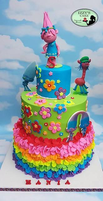 Trolls Cake by Izabela McCabe