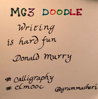 Clmooc Doodle Calligraphy