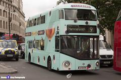 Wrightbus NRM NBFL - LTZ 1174 - LT1174 - Chambord - Hammersmith 9 - RATP Group London - London 2017 - Steven Gray - IMG_0323