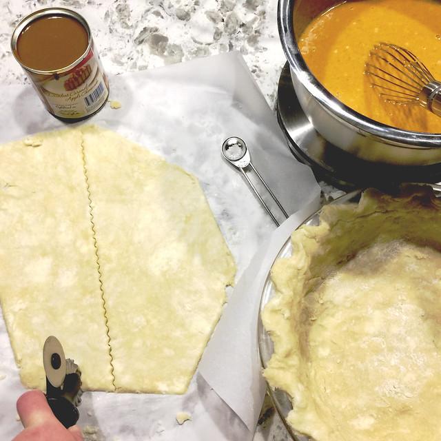 Pumpkin Dulce de Leche Pie