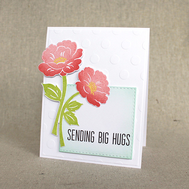 Sending Big Hugs Card